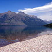 Lake Mcdonald Reflection Glacier National Park 4 Art Print