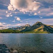 Lake Minnewanka Banff II Art Print