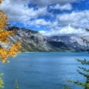 Lake Minnewanka Banff National Park Alberta Canada Art Print
