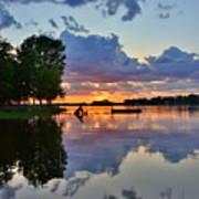 Lake Murray Sc Reflections Art Print