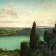 Lake Nemi Art Print