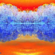 Lake Of Many Colors  Art Print