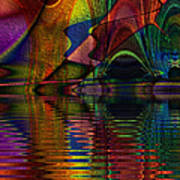 Lake Opalescence Art Print