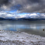 Lake Pend D'oreille At 41 South Art Print