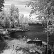 Lake Pend D'oreille Art Print
