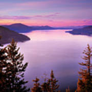 Lake Pend Oreille 2 Art Print