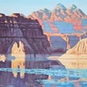 Lake Powell From Shore  Art Print
