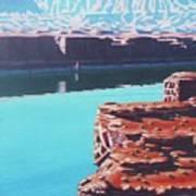 Lake Powell Overlook Art Print