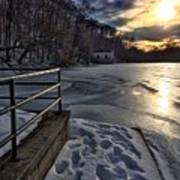 Lake Roland Sunset Art Print
