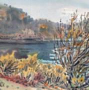 Lake Roosevelt Art Print