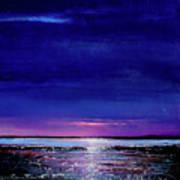 Lake Shimmers Art Print