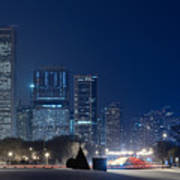 Lake Shore Drive Chicago Art Print