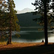 Lake Siskiyou  Art Print