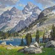 Lake Solitude Art Print