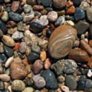 Lake Superior Stones Print by Don Newsom