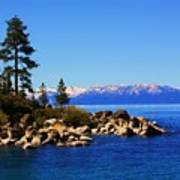 Lake Tahoe At Sand Harbor Art Print