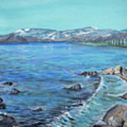 Lake Tahoe From Kings Beach California Art Print