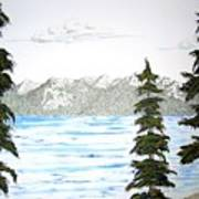 Lake Tahoe In Summer Art Print