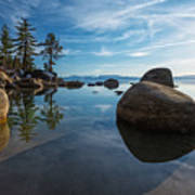 Lake Tahoe Nevada Art Print