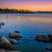 Lake Tahoe State Park Fall Sunset Art Print by Scott McGuire