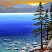 Lake Tahoe Sunrise Art Print