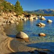 Lake Tahoe Tranquility Art Print by Scott McGuire