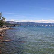 Lake Tahoe Waterscape Art Print