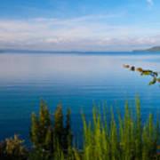Lake Taupo Art Print