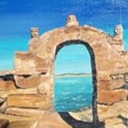Lake Titicaca Peru Art Print