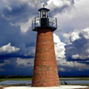 Lake Toho Lighthouse 002  Art Print