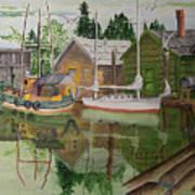 lake Union Seattle Art Print