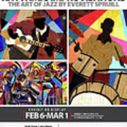 Rhythmic Improvisations - The Art of Jazz Art Print