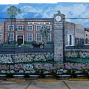 Lake Wales Florida Mural Art Print