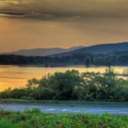 Lake Washington And Route 209 Art Print