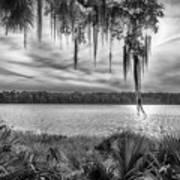 Lake Wauberg   Art Print