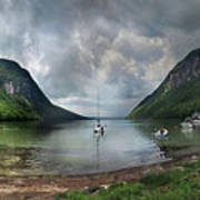 Lake Willoughby  Panorama One Art Print