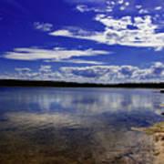 Lake Wollumboola Memories  Art Print