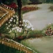 Lake1 Art Print