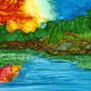 Lakeshore Art Print
