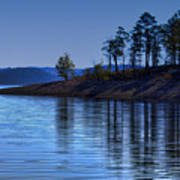 Lakeside-beavers Bend Oklahoma Art Print