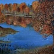 Lakeside17 Art Print