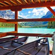 Lakeview From The Boathouse Art Print