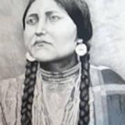 Lakota Woman Art Print