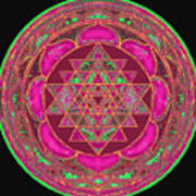 Lakshmi Yantra Mandala Art Print by Svahha Devi