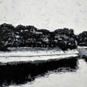 Lal Bagh Lake 4 Art Print