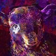 Lamb Spring Cute Animal  Art Print