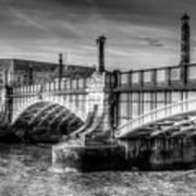 Lambeth Bridge London Art Print