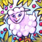 Lambie Art Print