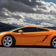 Lamborghini Exotic Car Art Print