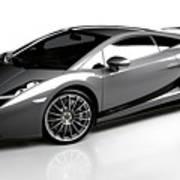 Lamborghini Galardo Superleggera Art Print